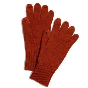Madewell Women's 100% Wool Texting Knit Gloves